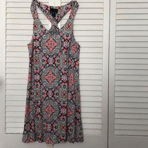 "Sun Dress. Measured  Across bust 17"" stretchy fab"